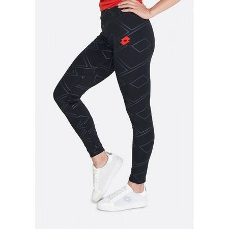 Леггинсы женские Lotto ATHLETICA CLASSIC W II LEGGING JS STC  ALL BLACK 214400/1CL
